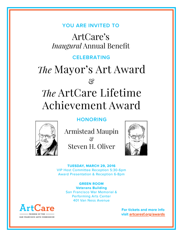 ArtCare Awards & Benefit 2016